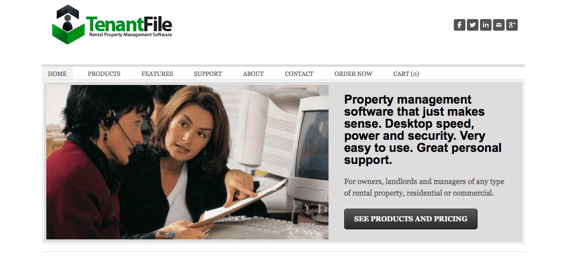 Tenant File website